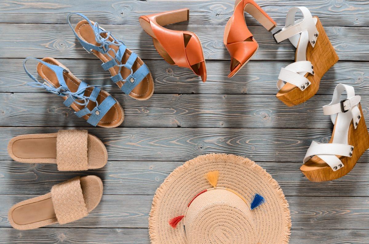 Schuh-Trend 2020: In diesem Sommer trägt man Sandalen mit Holzabsatz