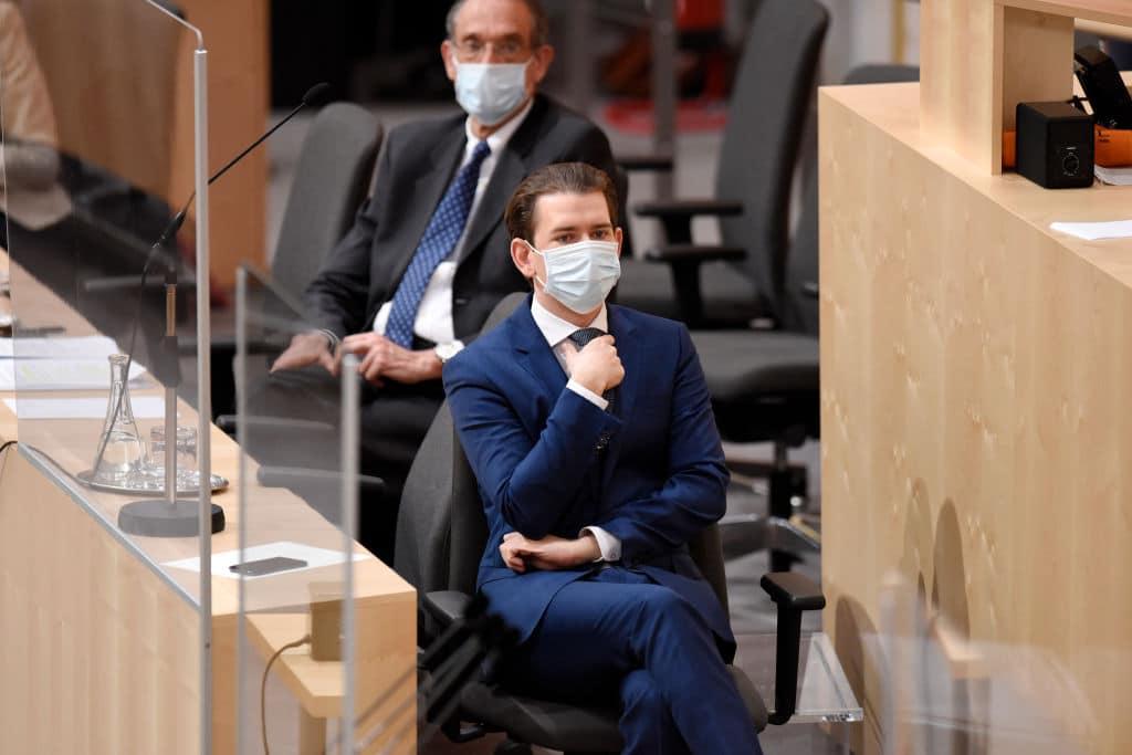 Sebastian Kurz: Im Supermarkt herrscht ab Freitag wieder Maskenpflicht
