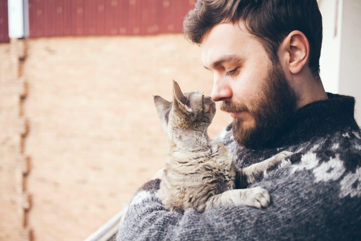Studie: Frauen finden Männer mit Katzen unattraktiver