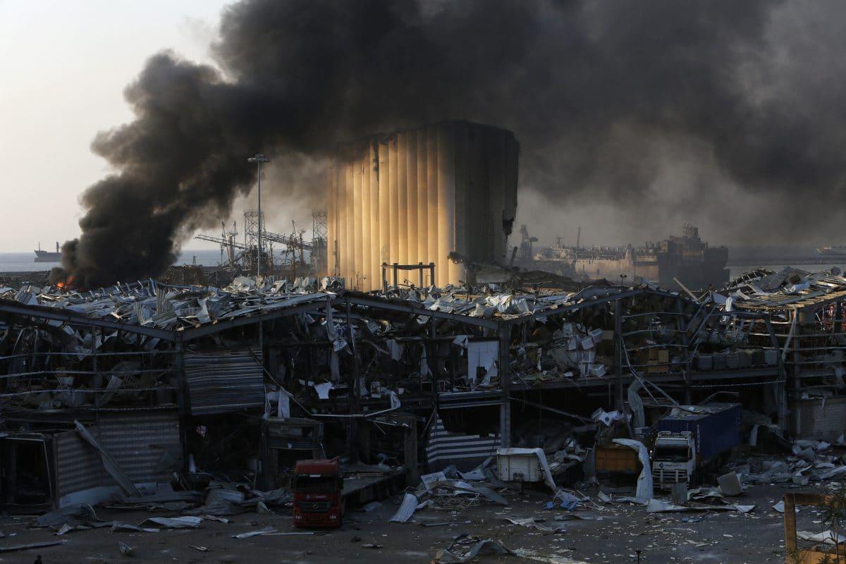 Hochzeitsvideo zeigt Explosion in Beirut