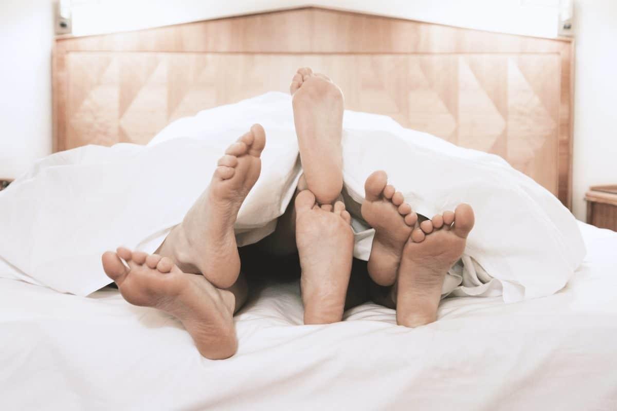 Die schönsten Sex-Stellungen für einen Dreier