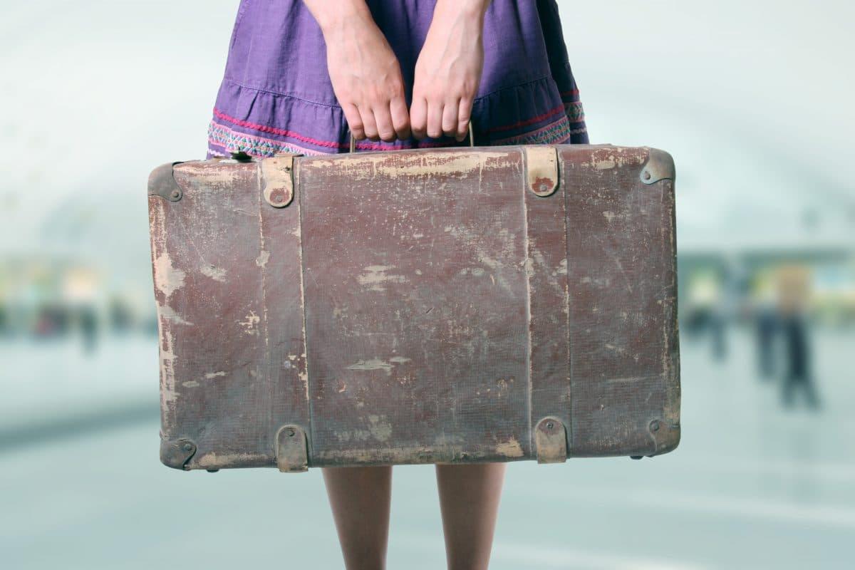Flughafen München: Frau landet mit Skelett ihres Ehemanns im Gepäck