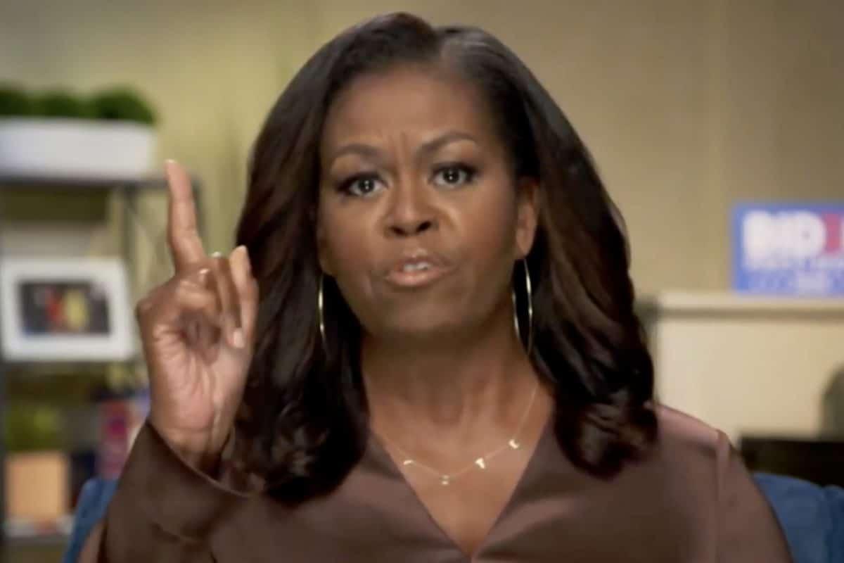 """Michelle Obama: """"Donald Trump ist der falsche Präsident für unser Land"""""""