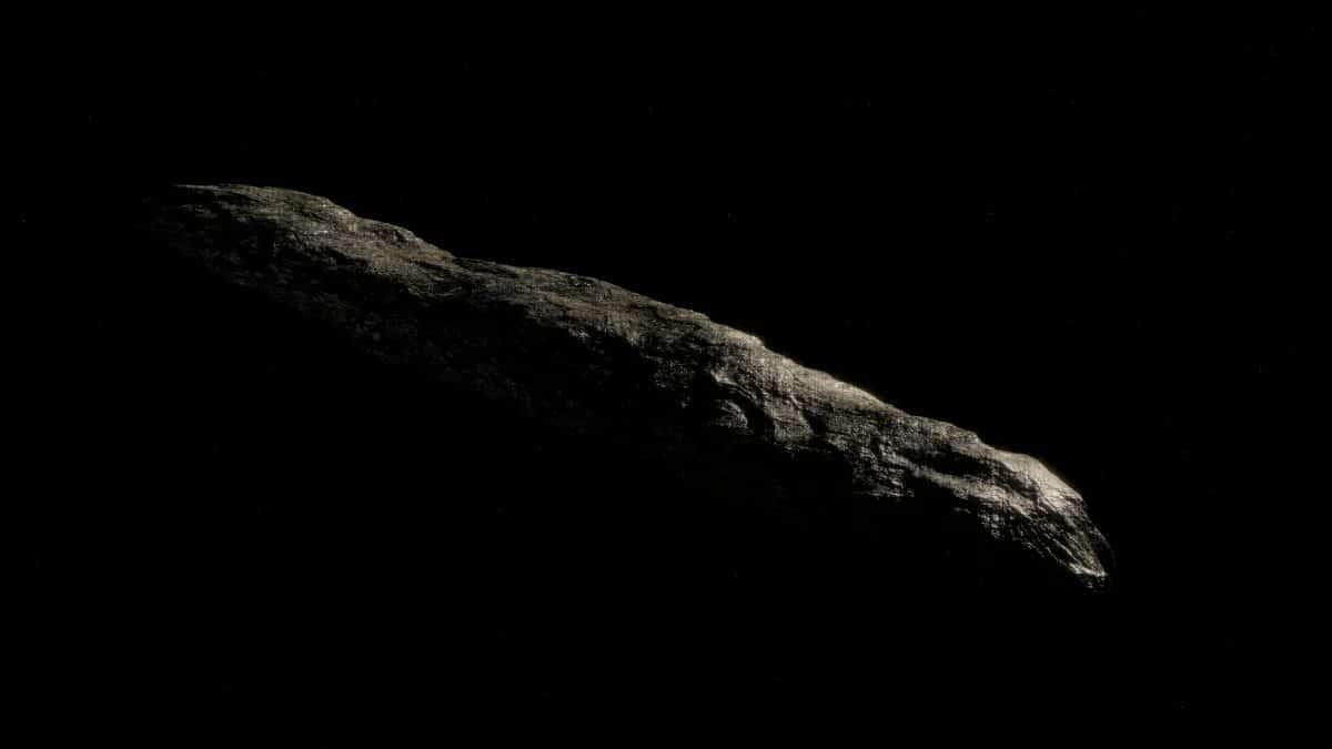 Oumuamua: Laut Forschern könnte das 2017 aufgetauchte Objekt ein Alien-Raumschiff sein