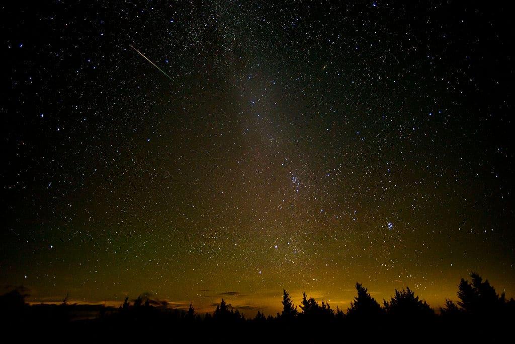 Sternschnuppen: Die Perseiden-Schauer beginnen