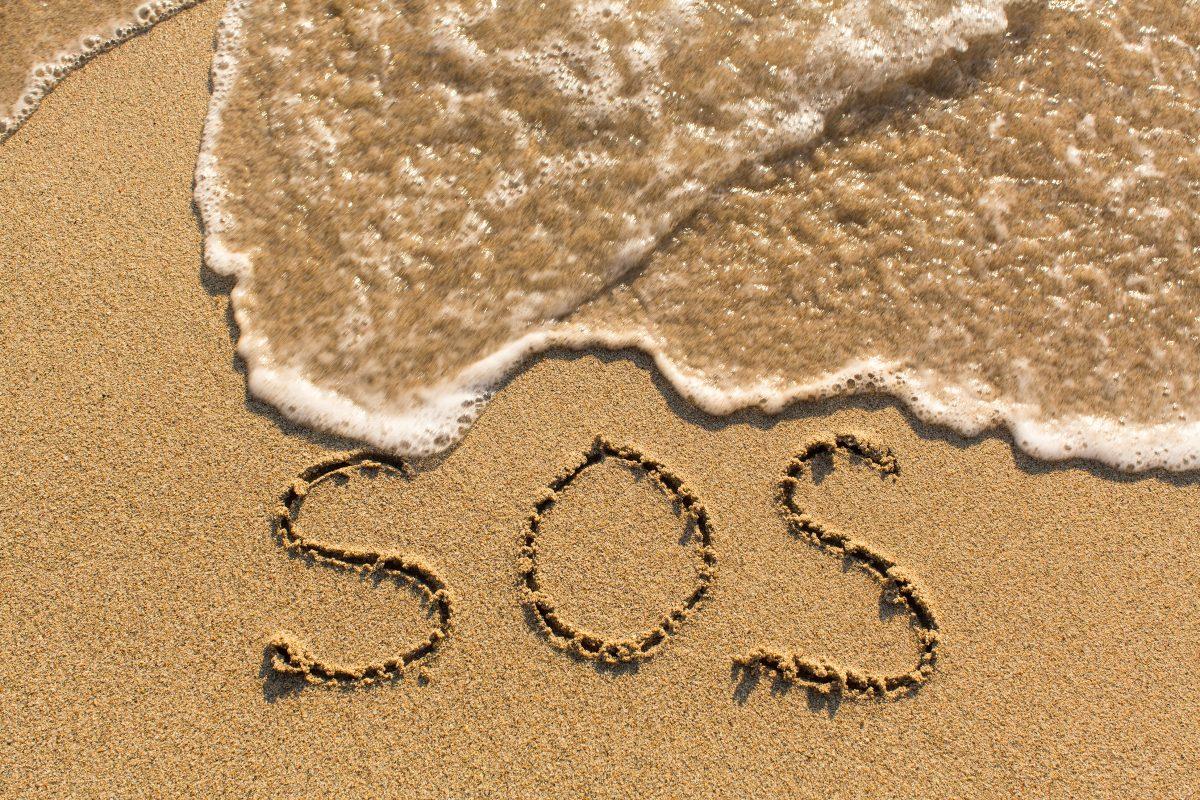 SOS-Zeichen: Vermisste Segler wurden auf einer Insel entdeckt