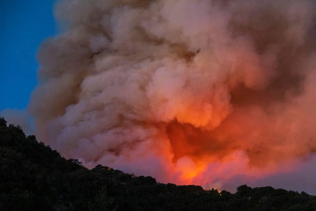 Waldbrände führen zu Notstand in Kalifornien