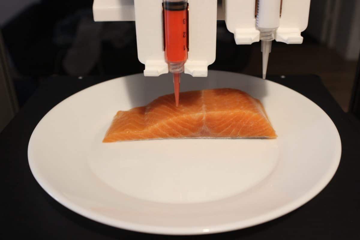 """Wiener Start-Up """"Legendary Vish"""" druckt pflanzlichen Fisch"""