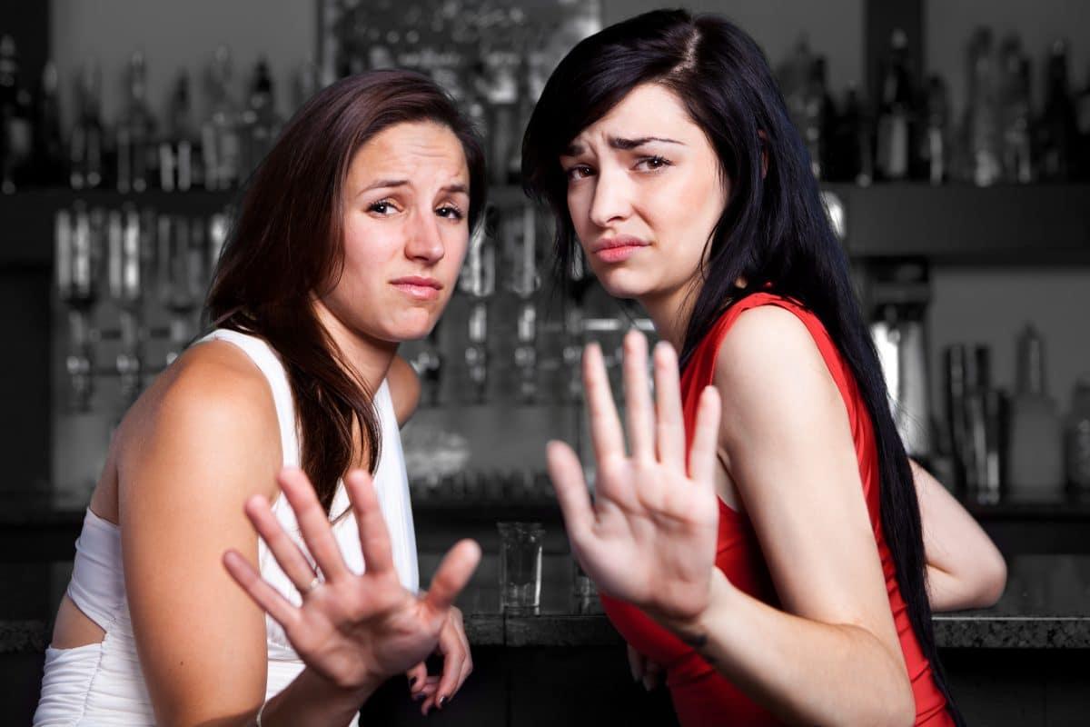 Wie man jemanden höflich abblitzen lässt