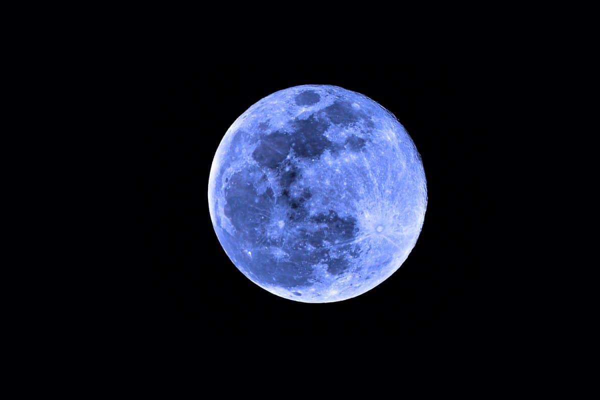 """""""Blauer Mond"""": Seltener doppelter Vollmond im Oktober 2020 zu sehen"""