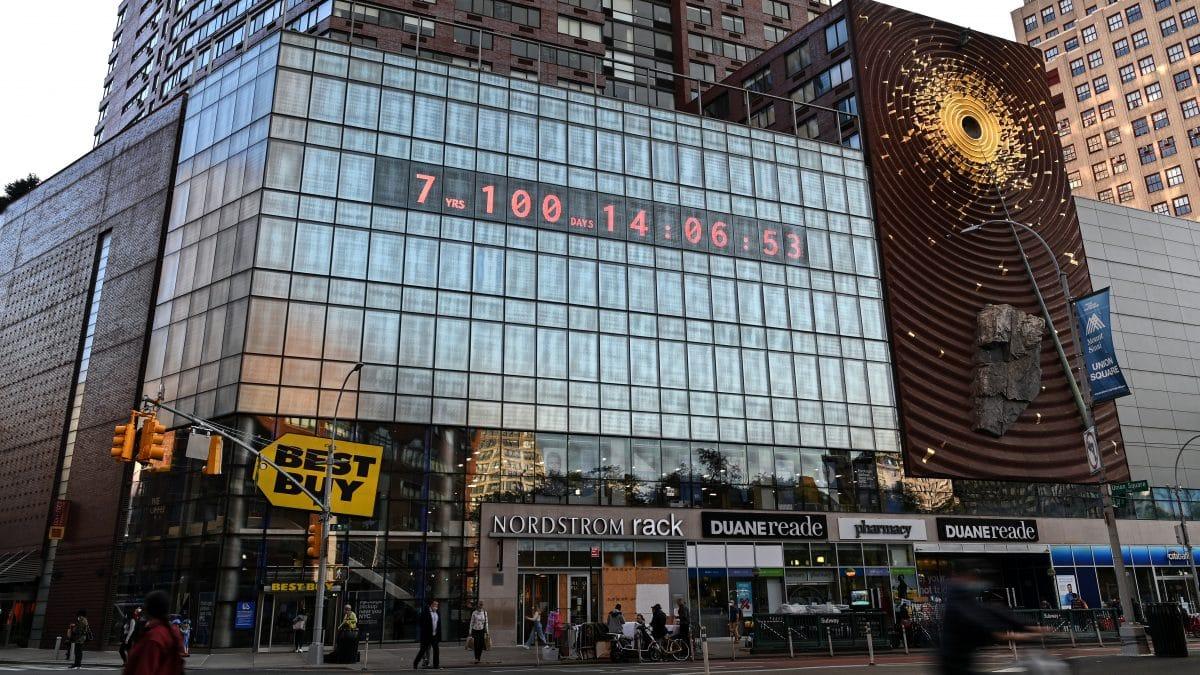 Diese Uhr zeigt, wie lange wir noch bis zur Klimakrise haben