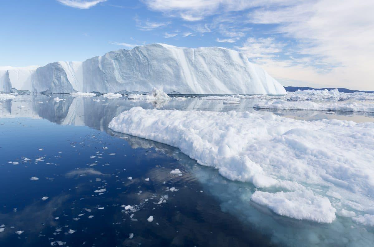 Klimawandel: Große Fläche von Schelfeis in Grönland abgebrochen