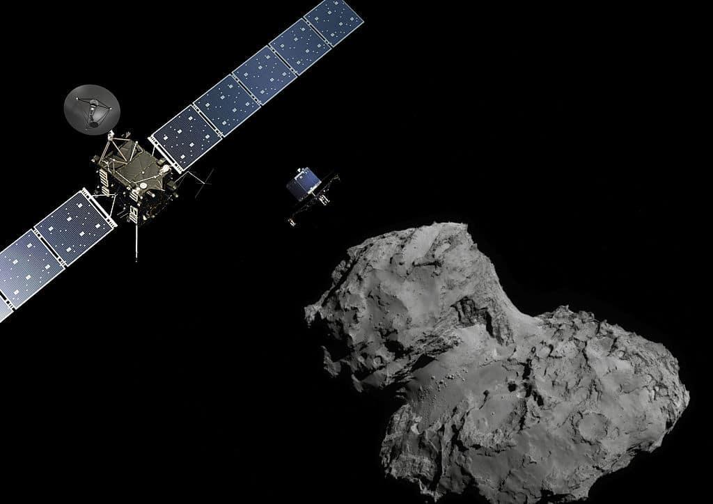 Der Komet Tschuri leuchtet ultraviolett: Neue Erkenntnisse aus dem All