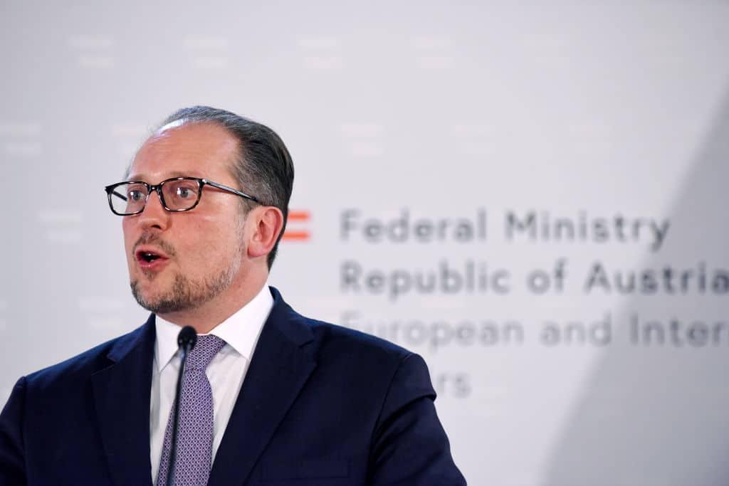 Österreichischer Außenminister positiv auf Corona getestet