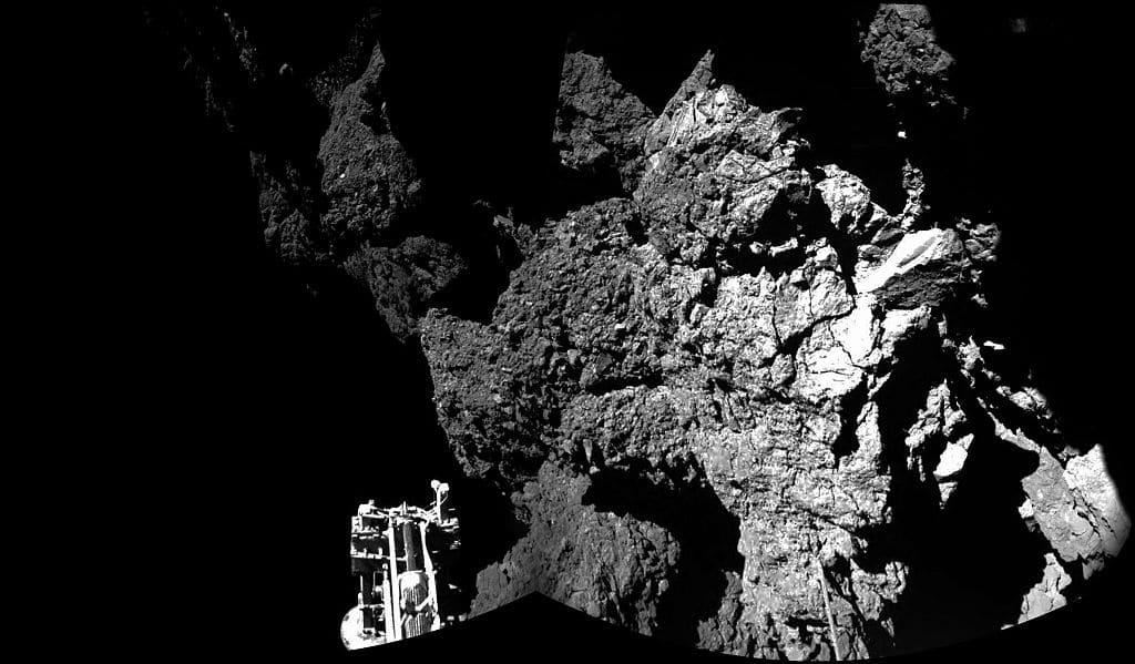 """Weltraumbehörde findet """"Totenkopf"""" auf Kometen"""