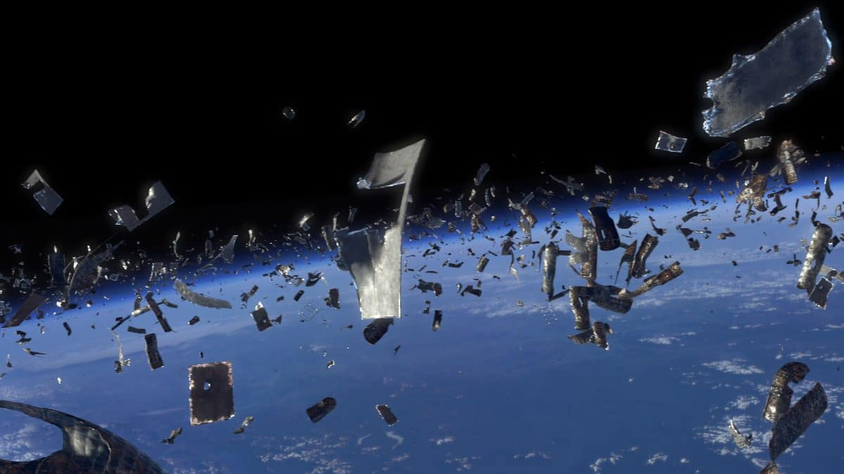 Wir müllen nicht nur die Erde, sondern auch den Weltraum zu