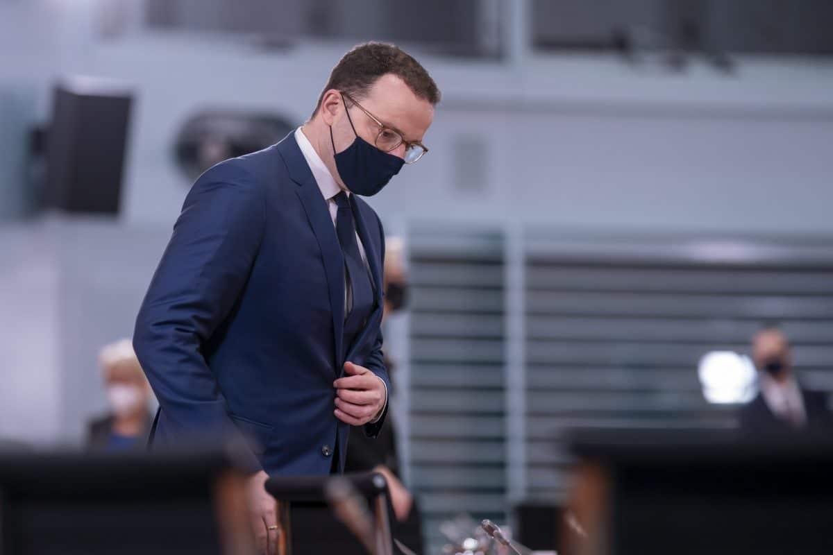Deutscher Gesundheitsminister Jens Spahn positiv auf Corona getestet