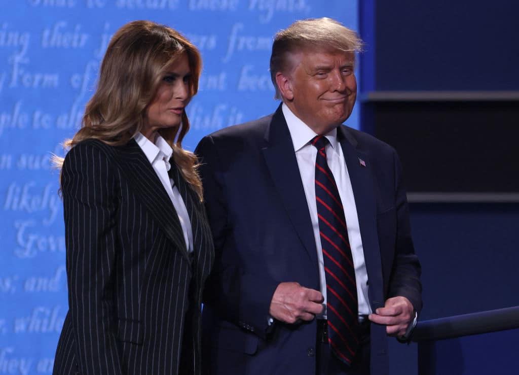 "Melania Trump über Coronavirus: ""Achterbahn der Symptome"""
