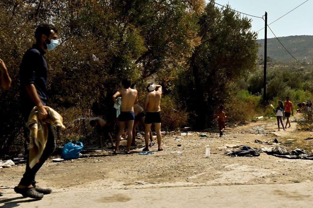 Neues Flüchtlingslager auf Lesbos soll schlimmer sein als Moria