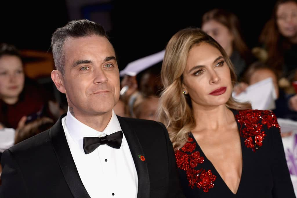Robbie Williams hat Ehefrau Ayda Field geghostet