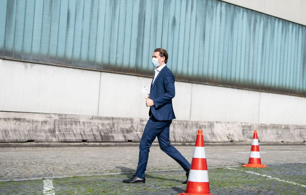 Sebastian Kurz fordert zu verschärften Maßnahmen auf
