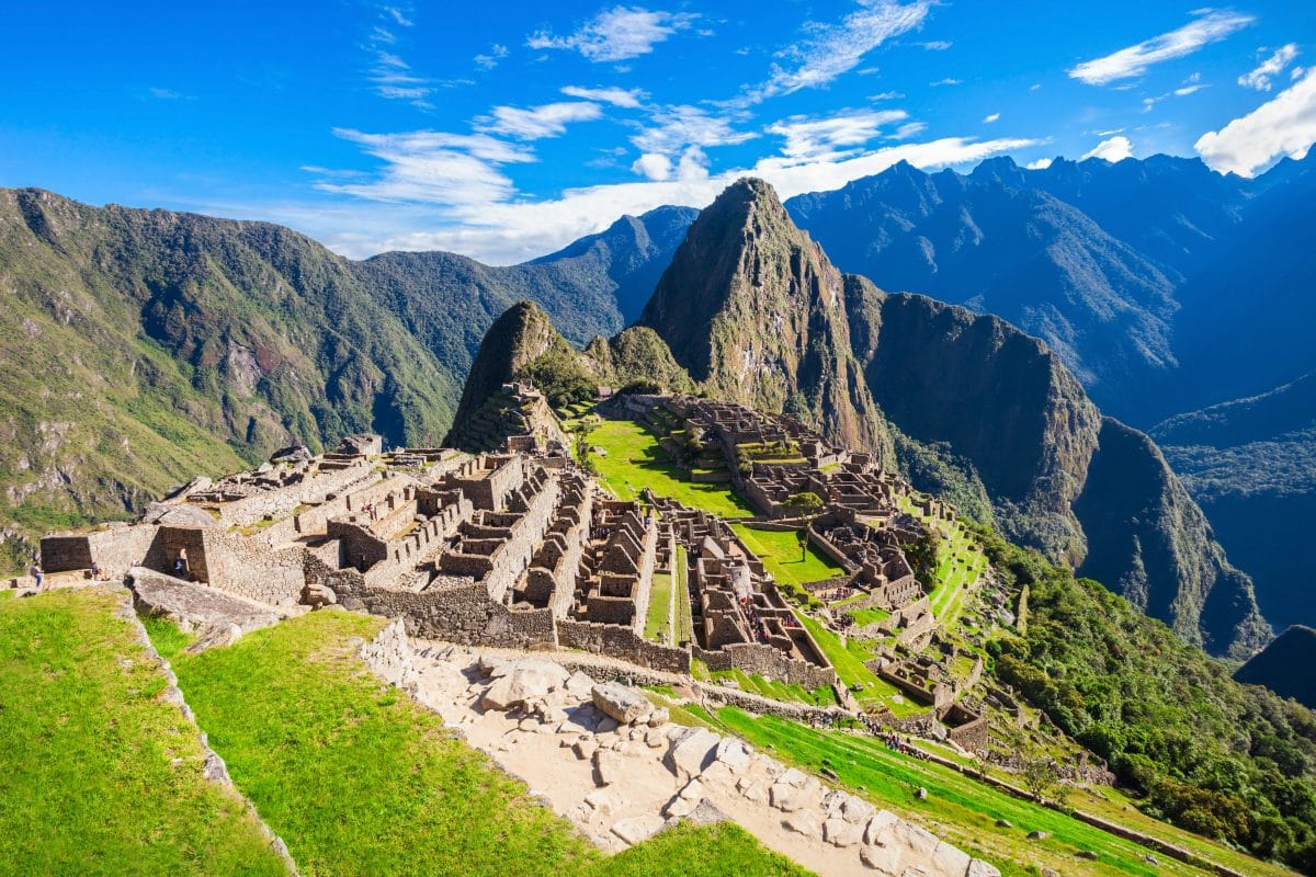 Tourist darf ganz allein Machu Picchu besuchen
