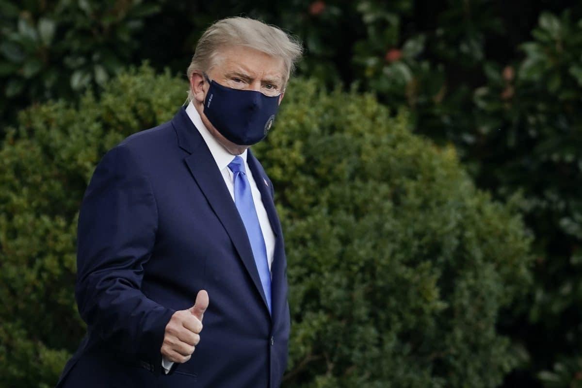 Trump geht es laut Ärzten besser: Rückkehr ins Weiße Haus schon am Montag?