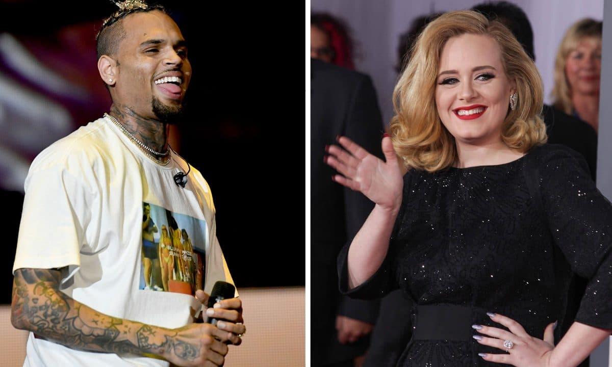 Läuft da etwas zwischen Chris Brown und Adele?