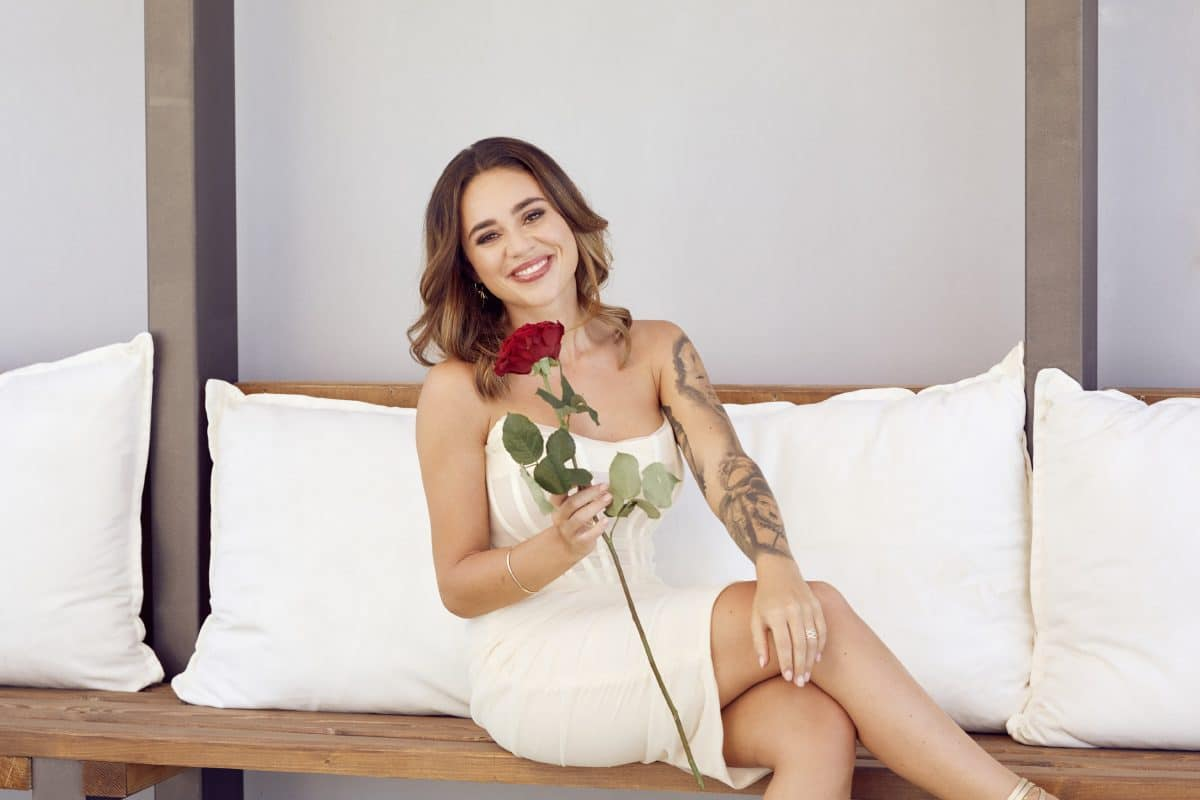 """Erster Kuss bei """"Bachelorette"""": Melissa knutscht mit diesem Kandidaten"""