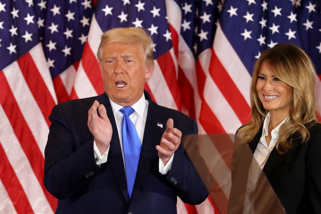 Donald Trump erklärt sich noch vor US-Wahlergebnis selbst zum Sieger