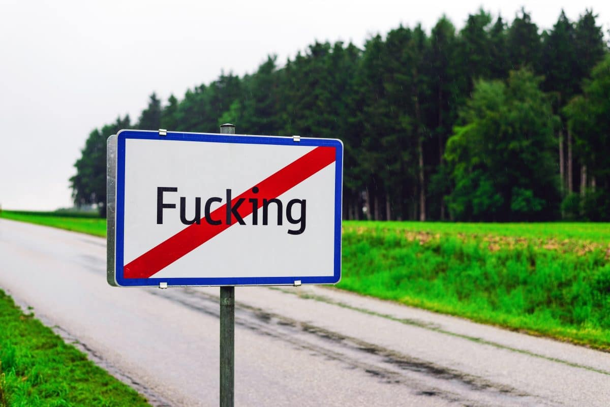 """Ortschaft """"Fucking"""" wird in """"Fugging"""" umbenannt"""