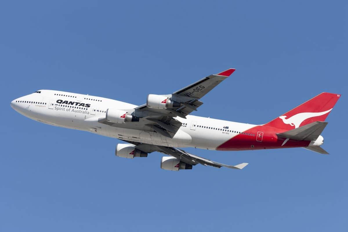 Qantas plant Corona-Impfpflicht für Fluggäste