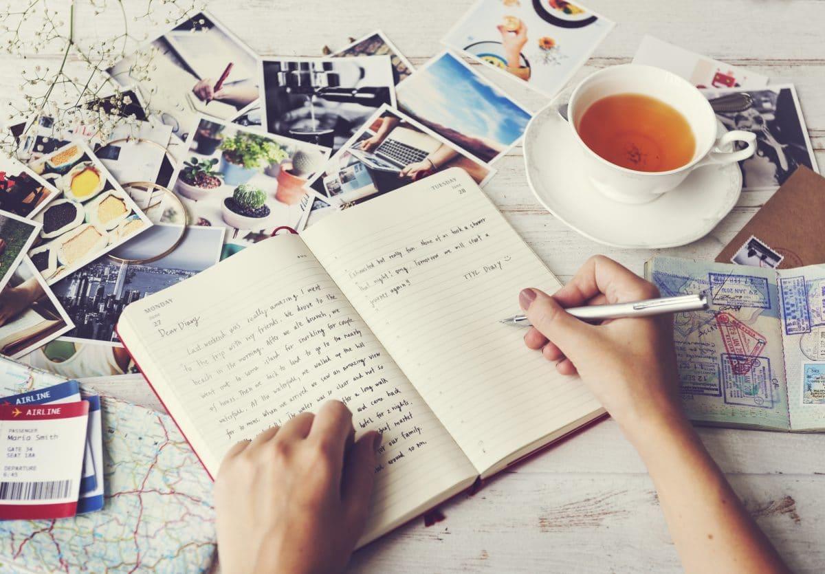 Tagebuch als Self-Care-Ritual: So ziehst du es wirklich durch