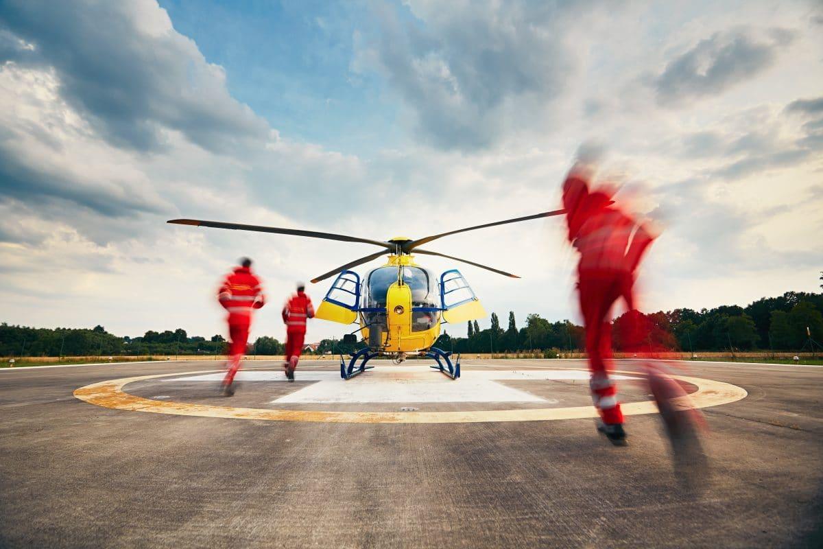 Spenderherz überlebt Hubschrauberabsturz in Kalifornien