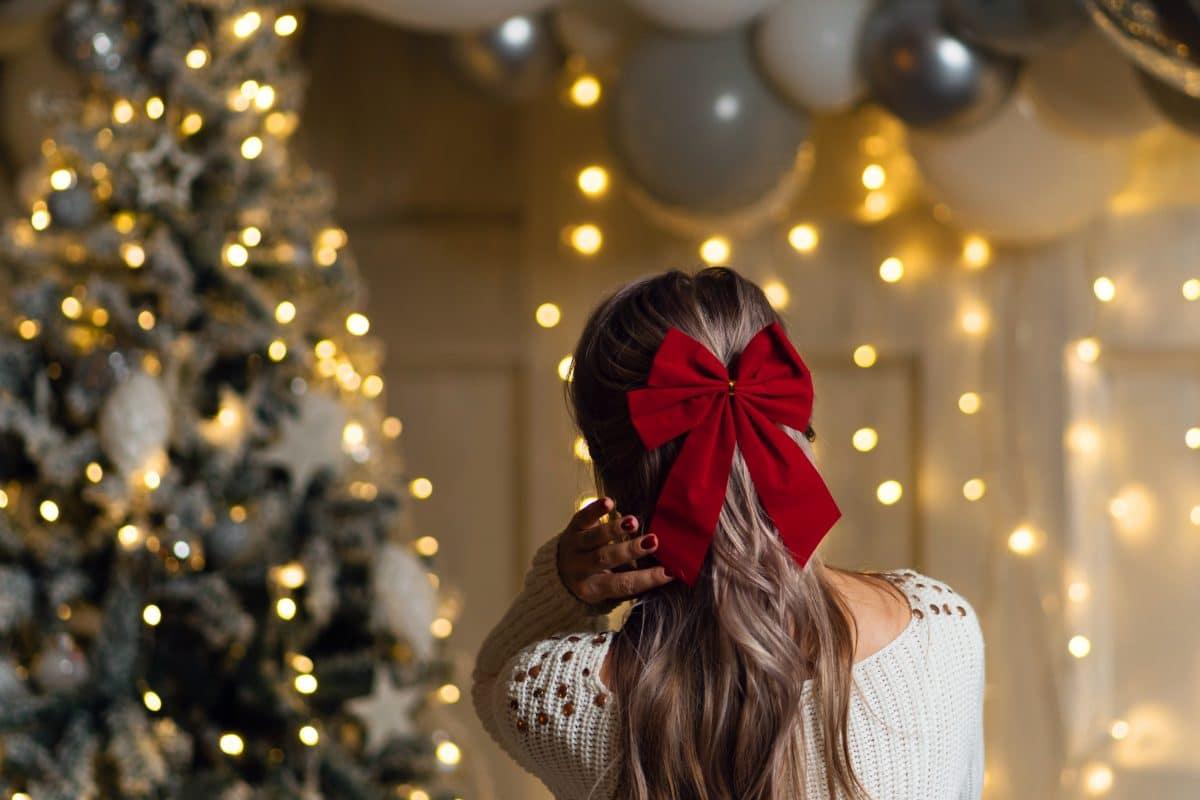 3 festliche Frisuren für Weihnachten