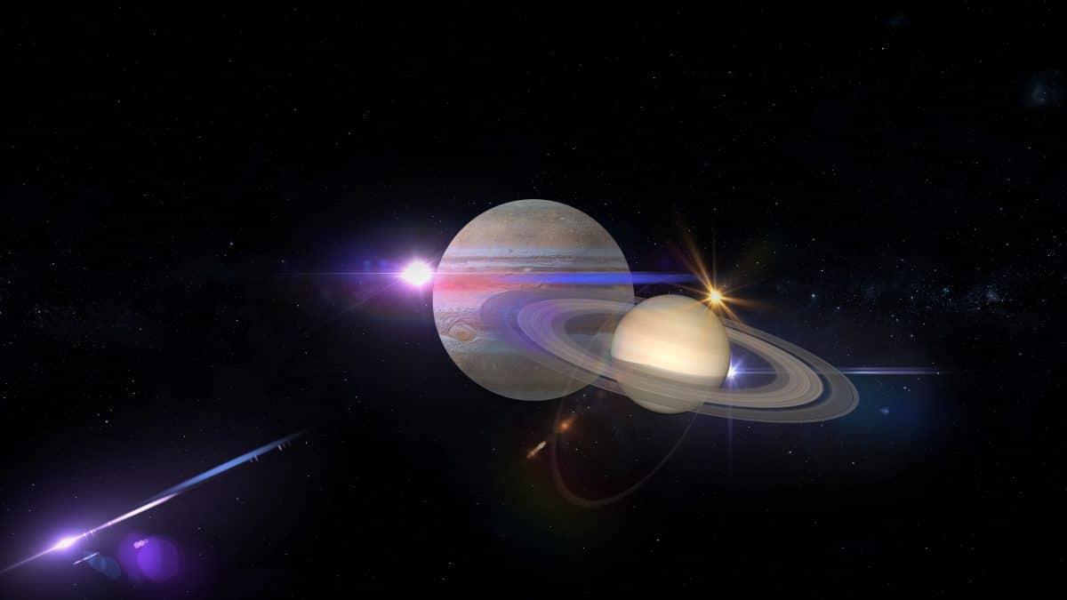 Seltenes Himmelsspektakel: Jupiter und Saturn verschmelzen zu Stern