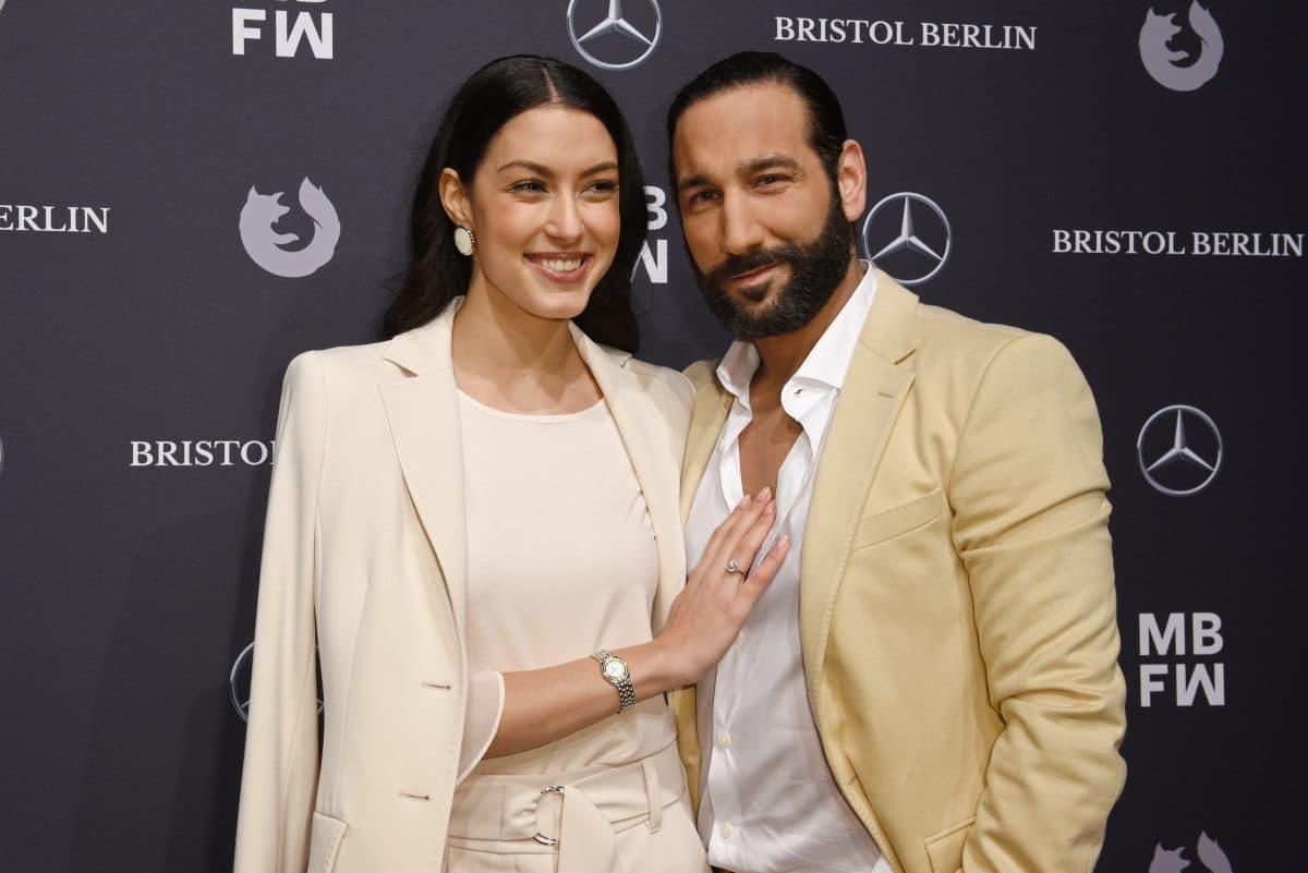 Rebecca Mir ist schwanger: Baby mit Ehemann Massimo Sinató
