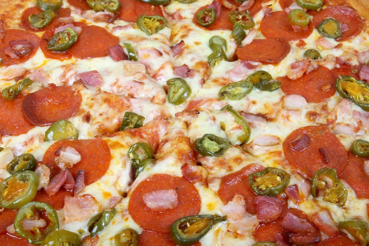 Schinken-Käse-Pizza Brötchen