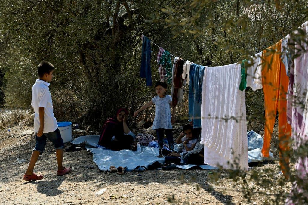 Psychologin warnt: Bedingungen in den Flüchtlingslagern auf Lesbos machen Kinder krank