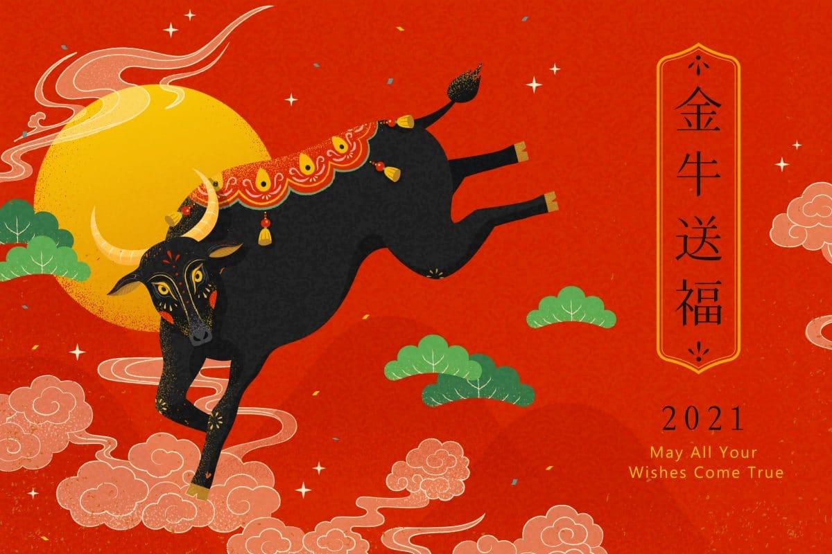 Chinesisches Horoskop 2021: So wird das Jahr des Büffels für dein Sternzeichen