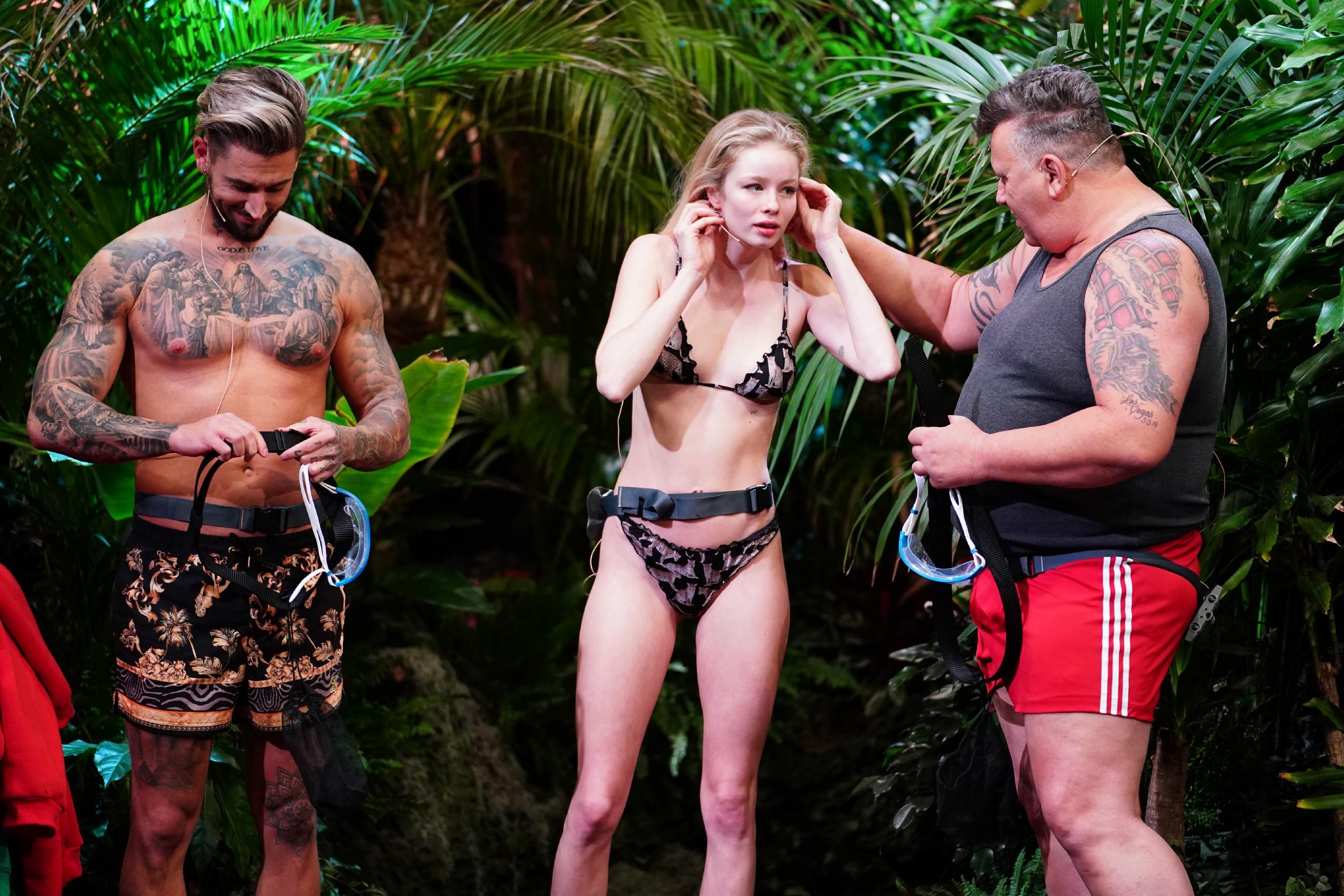 Dschungelcamp 2021: Zoe schreit vor Angst bei erster Dschungelprüfung
