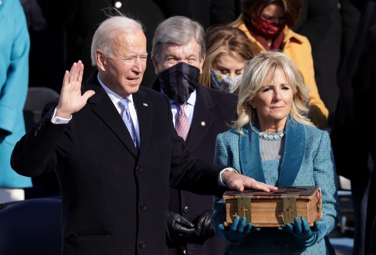Joe Biden als 46. US-Präsident vereidigt: Machtwechsel in Washington