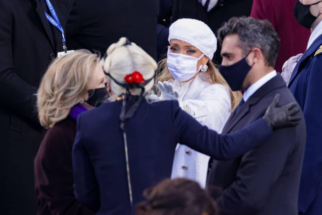 Lady Gaga wurde bei der Präsidenten-Vereidigung von ihrem Freund unterstützt und es war zu süß