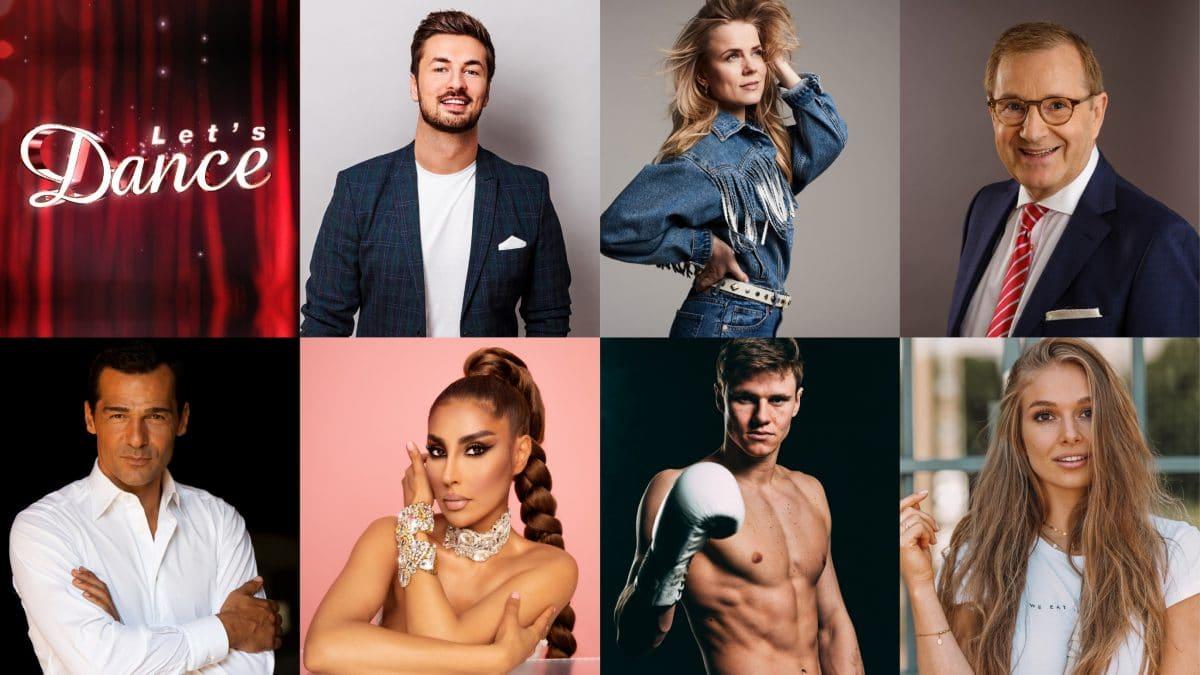 Let's Dance 2021: Das sind die 14 Promi-Kandidaten