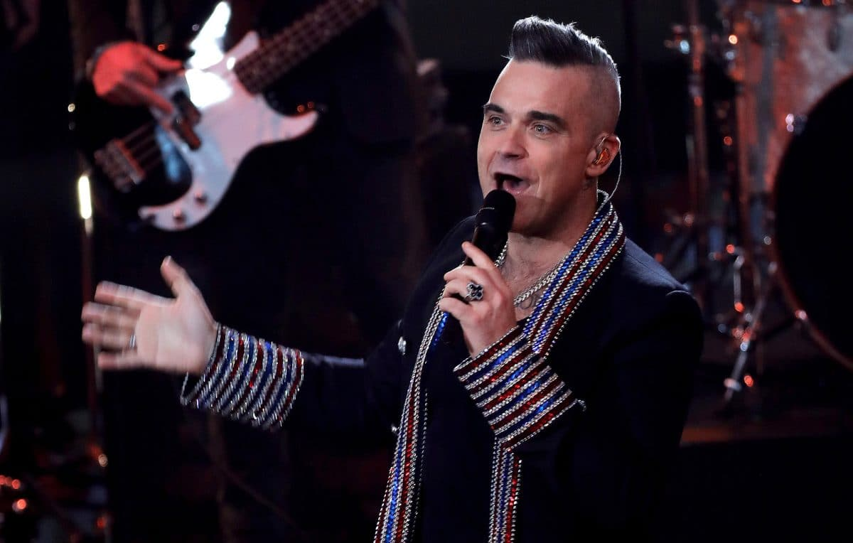 Robbie Williams hat Corona: Im Urlaub angesteckt