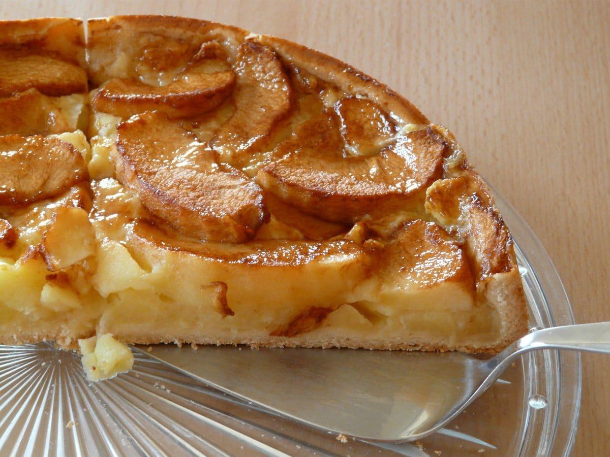 Blitz-Apfelkuchen Rezept