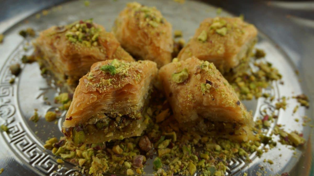 Baklava – traditionell türkische Nachspeise