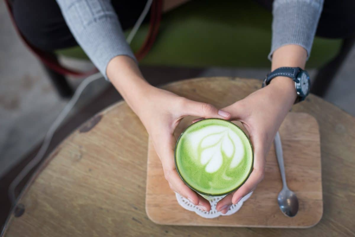 Matcha Latte Rezept