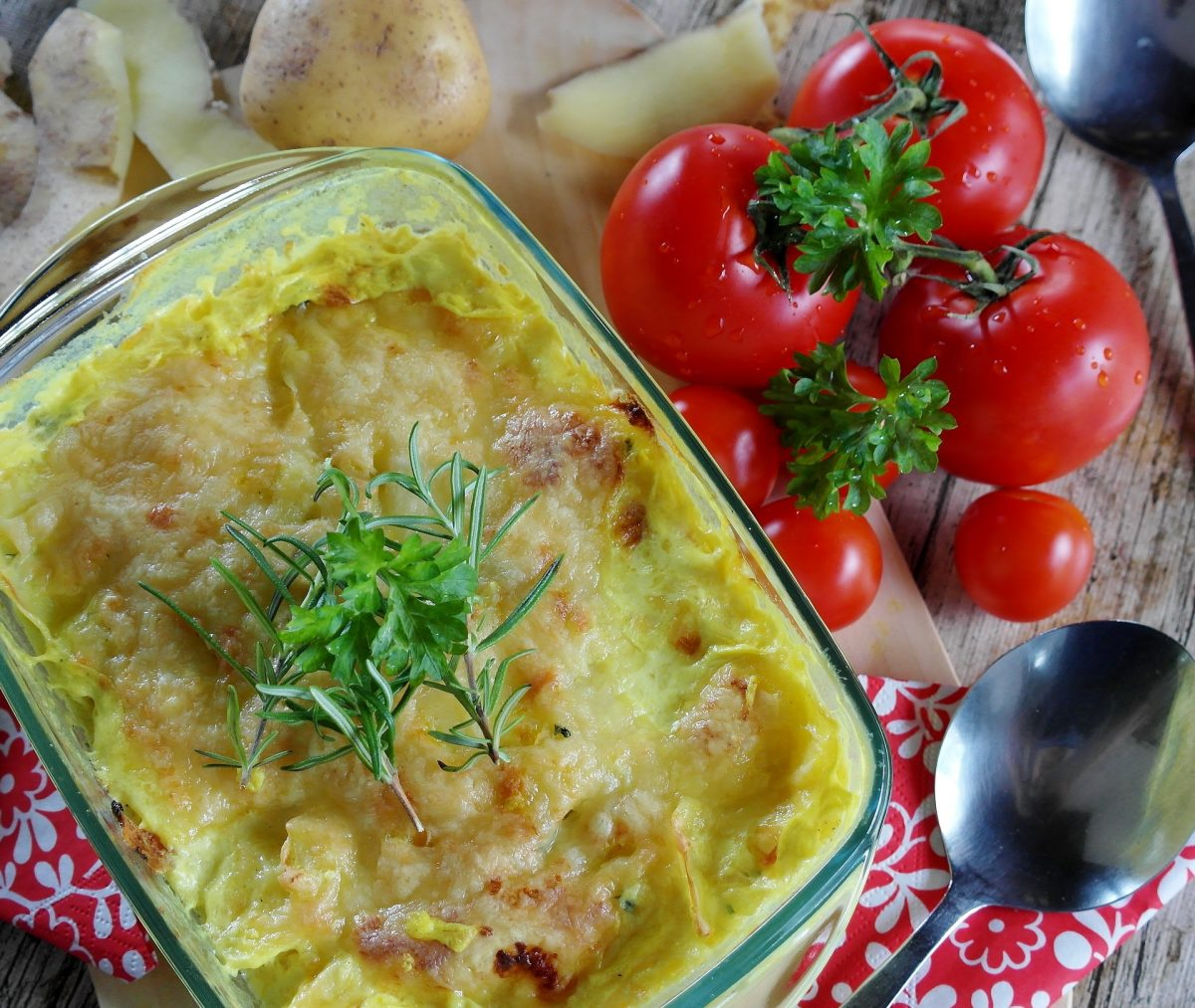 Veganes Kartoffelgratin Rezept