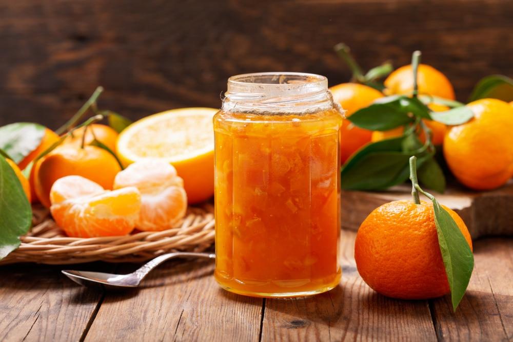 Mandarinenmarmelade mit Granatapfelsaft Rezept